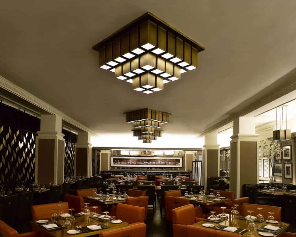 PTY Lighting's Custom Restaurant Lighting for American Cut Steakhouse Restaurant 5