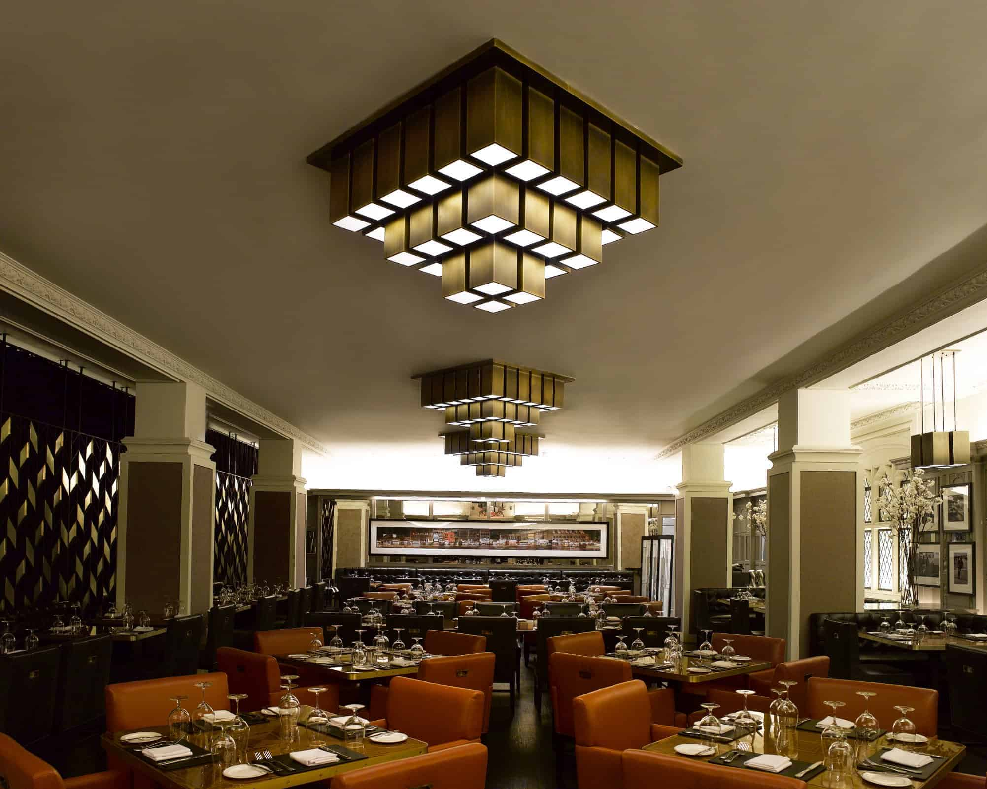 Custom Contract Restaurant Lighting 2