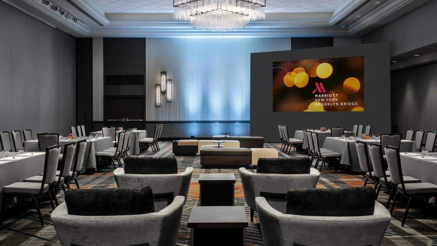 Decorative Lighting Case Study: Brooklyn Bridge Marriott 5
